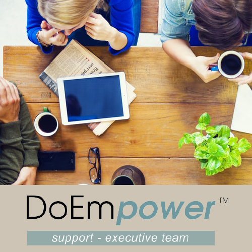 DoEmpower support executive team